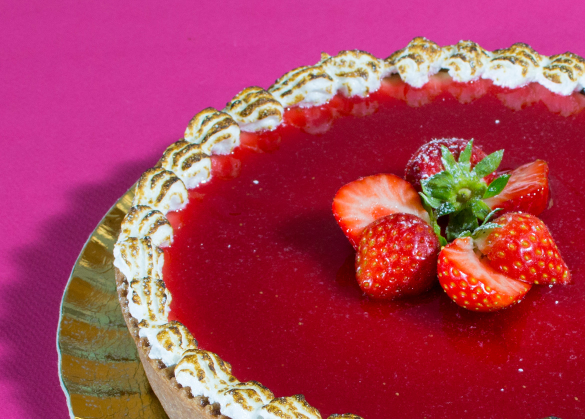 Cheese cake alla fragola Busnelli
